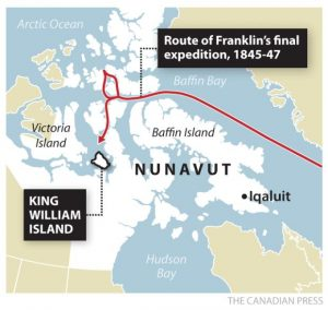 route-of-franklin-expedition